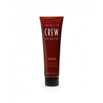 American Crew Firm Hold Styling Gel stiprios fiksacijos gelis be alkoholio, apsaugantis odą 250ml