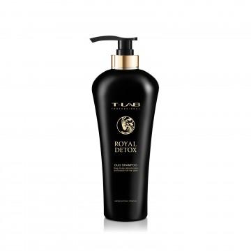 T-LAB Professional ROYAL DETOX DUO SHAMPOO – Šampūnas Imperatoriškam plaukų glotnumui ir absoliučiai detoksikacijai 750 ml