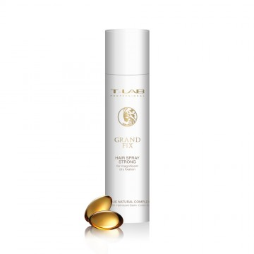 T-LAB Professional Grand Fix Hair Spray Strong – Stiprios fiksacijos lakas puikiai sausai fiksacijai 300ml