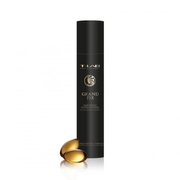 T-LAB Professional Grand Fix Hair Spray Super Strong – Itin stiprios fiksacijos plaukų lakas 300ml