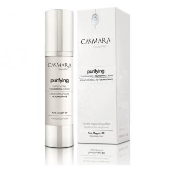 Casmara Purifying Oxygenating Nourishing Cream – deguonies prisotintas, maitinamasis kremas 50 ml