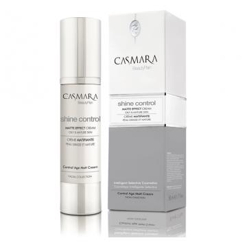 Casmara Shine Control Matte Effect Cream – matinį efektą suteikiantis jauninantis kremas 50 ml