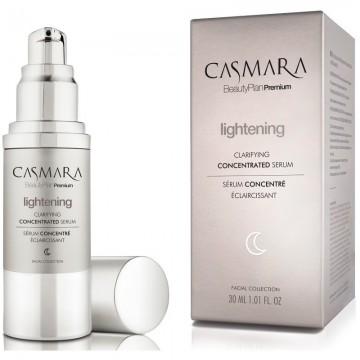 Casmara Lightening Clarifying Concentrated Serum – veido odą skaistinantis ir odos senėjimą stabdantis serumas, 30 ml