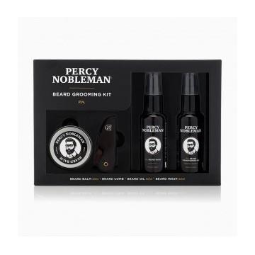 Percy Nobleman Beard Grooming Kit Barzdos priežiūros rinkinys, 1 vnt.