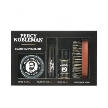 Percy Nobleman Beard Survival Kit Barzdos priežiūros rinkinys, 1vnt