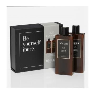 Nõberu No 101 Sandalwood Shampoo & Shower Cream Dovanų rinkinys vyrams, 1vnt