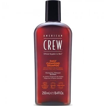 American Crew Daily Cleansing kasdieninis šampūnas normaliems, linkusiems riebaluotis plaukams 250ml