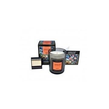 Black Musk Areon Aromatinė žvakė